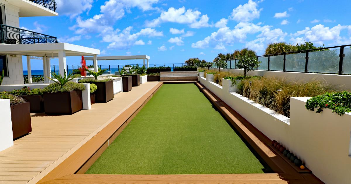 Luksuzne kuće - veštačka trava